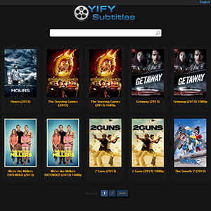 YIFY Subtitles - subtitles for YIFY movies